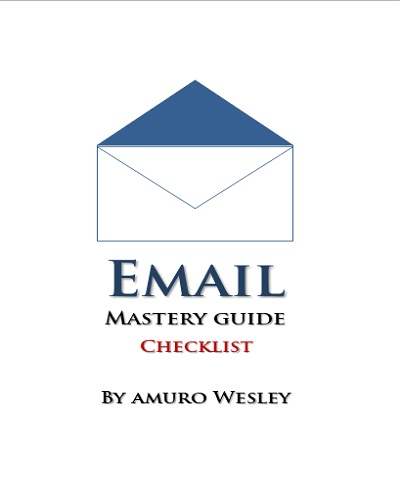 Email Mastery Guide Checklist